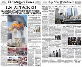 then and now september 11 front pages 9 11 remembered ten years abc news australian