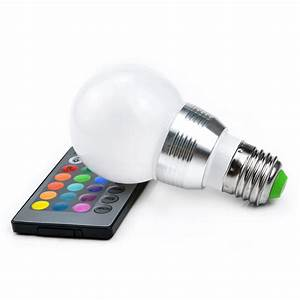 E14 Led Spot : colorful spot lamp e27 e14 rgb led bulb ball light 3 5w controller 110 220v b3f ebay ~ Orissabook.com Haus und Dekorationen