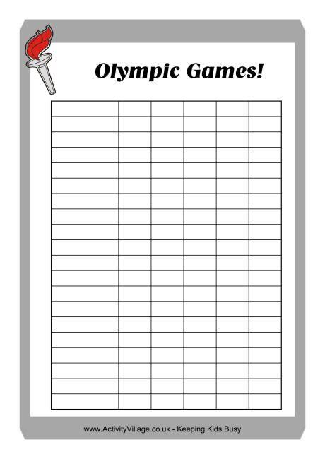 printable score sheets printable