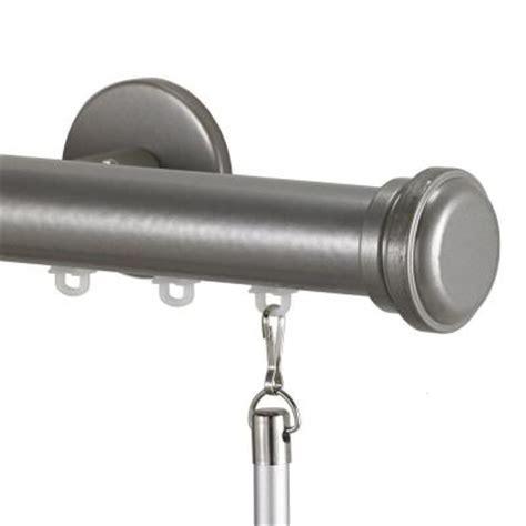decorative traverse rod for patio door decor tekno 25 decorative 120 in traverse rod in