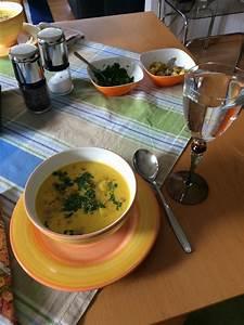 Aprikosenmarmelade Mit Ingwer : curry kokos suppe mit ingwer rezept mit bild von ~ Lizthompson.info Haus und Dekorationen