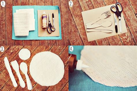 Bohemian Bedroom Ideas - place setting placemat diy a beautiful mess