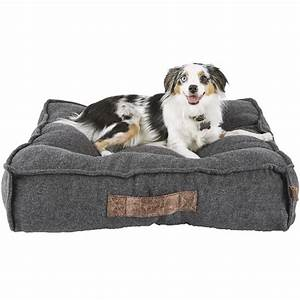harmony grey lounger memory foam dog bed petco With where to buy dog beds