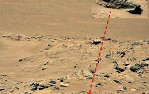 Is This A Figure Lying Down On Mars Captured By Curiosity ...