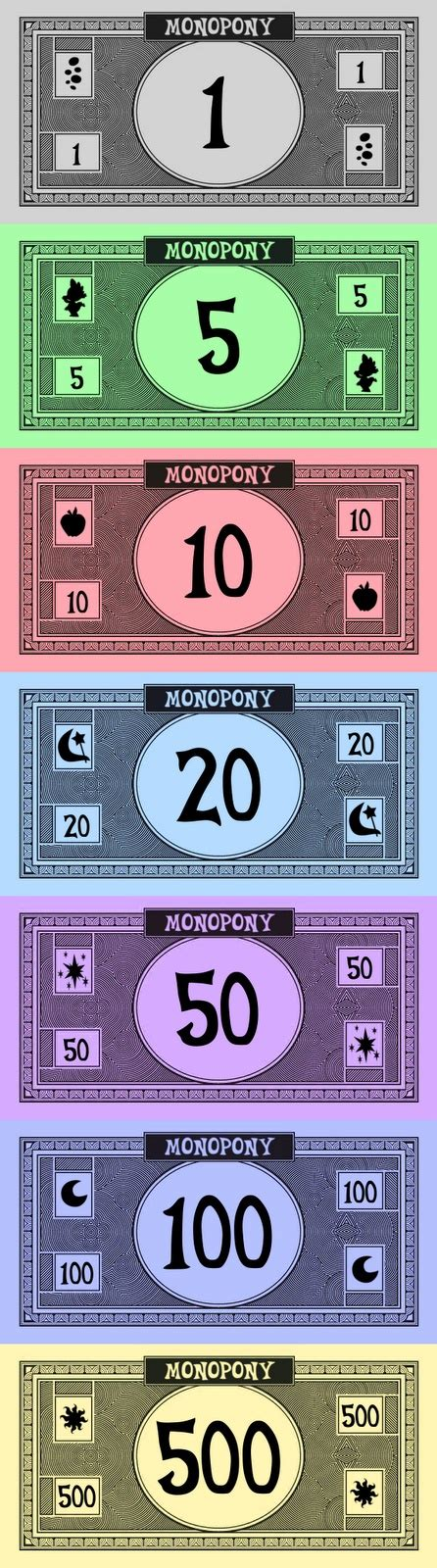 monopoly money template 18 best monopoly images on