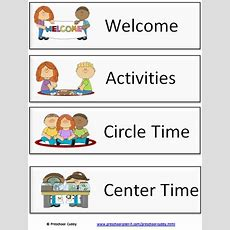 9 Tips & Tools To Plan A Daily Preschool Schedule