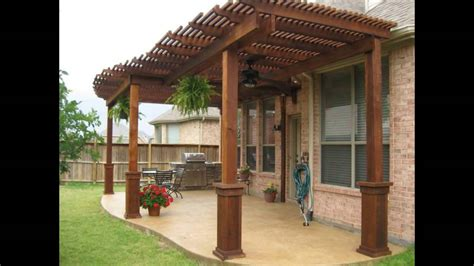 patio cover designs wood patio cover designs  standing patio cover designs youtube