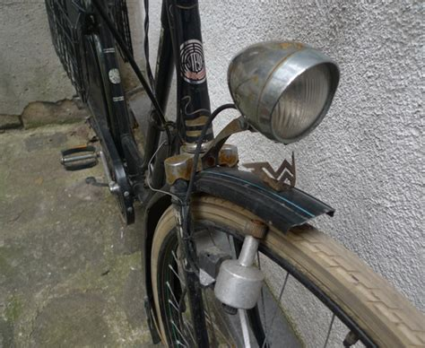 dynamo bike light fondness for the bottle