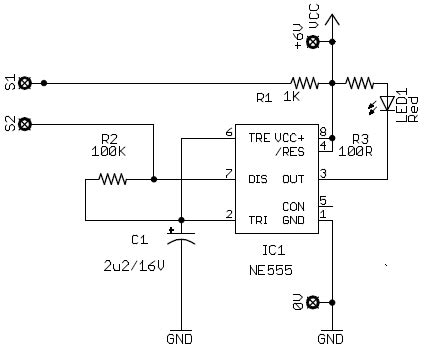 water alarm circuit
