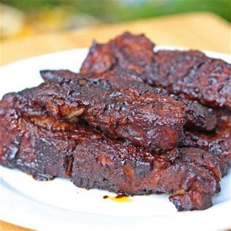 boneless pork ribs in oven saucy country style oven ribs this recipe uses boneless country style ribs and calls for doing