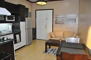 Palaciego uno fully furnished 1 bedroom condo unit for for Example interior design for small condo unit