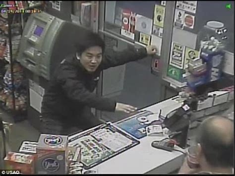 Chinese student cowers in gas station hiding from ...