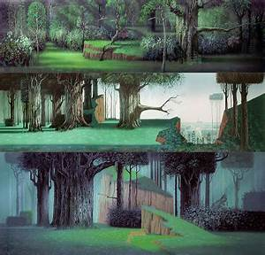 Sleeping Beauty background paintings by Eyvind Earle ...