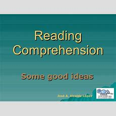 Reading Comprehension Techniques