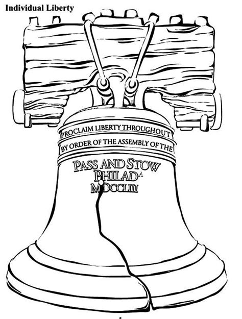 Declaration Of Independence Coloring Page Declaration