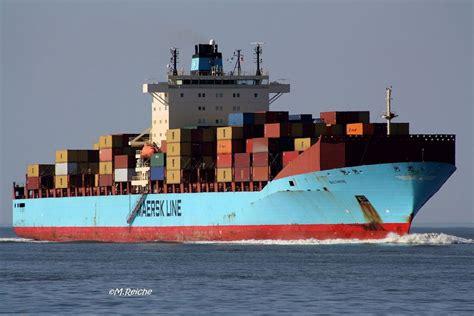 Die wirtschaftsnachrichtenagentur bloomberg schätzte den täglichen. Baltimore-schnellstes Containerschiff der Welt Foto & Bild ...