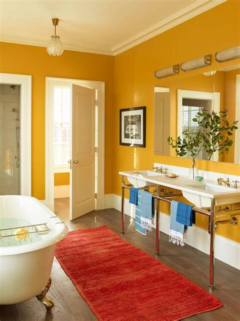 Yellow Tile Bathroom Paint Colors by This Spectacular Country House Masters The Use Of Color