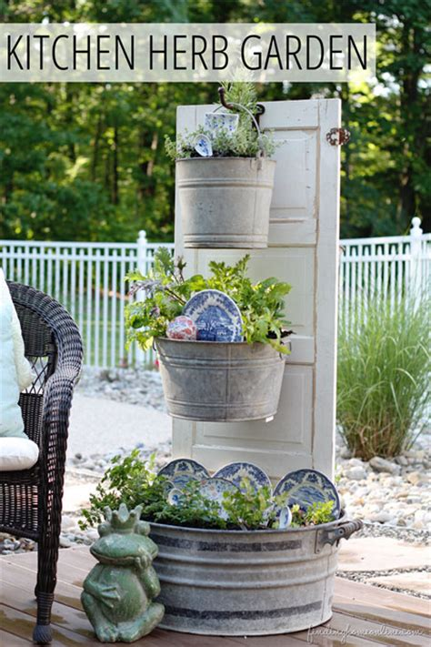 kitchen herb garden design diy outdoor projects to celebrate summer 4935