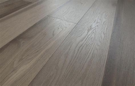 Prefinished Grey Antique Oak Flooring: wide plank 15mm