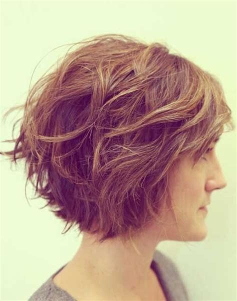short haircuts for women with thick wavy hair 20 feminine short haircuts for wavy hair styles weekly