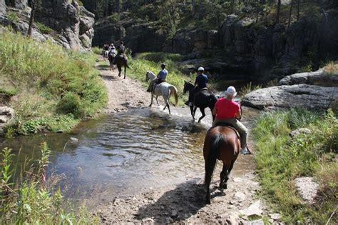 dakota south riding horseback