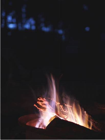 Campfire Camping Giphy Ohiopyle Rain Animated Dainty