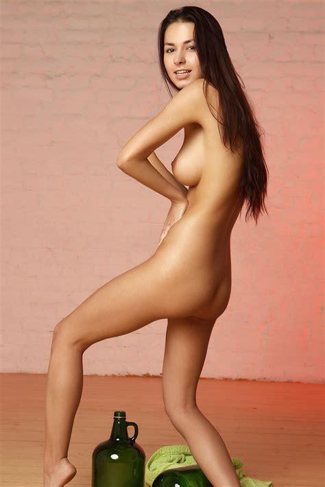 Helga Lovekaty Naked With Big Bottles Scandal