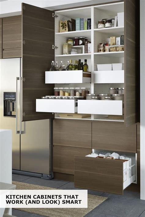Ikea Pantry Cabinet - ikea sektion cabinets help you find a space for everything