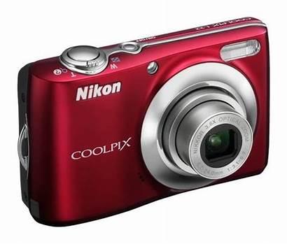 Nikon Coolpix L24 L22 Vermelha Muy Manual