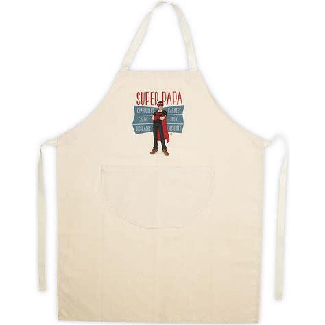 tablier cuisine homme tablier de cuisine homme beige en coton papa