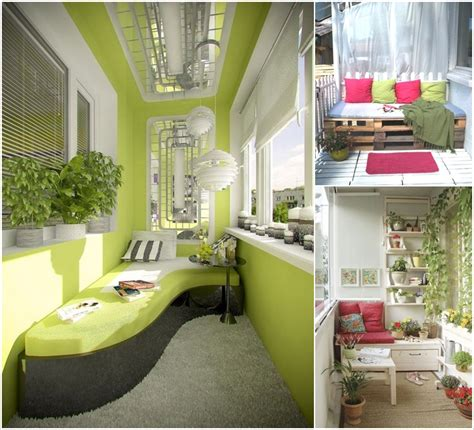 10 Big Ideas To Decorate A Small Space Balcony Amazing