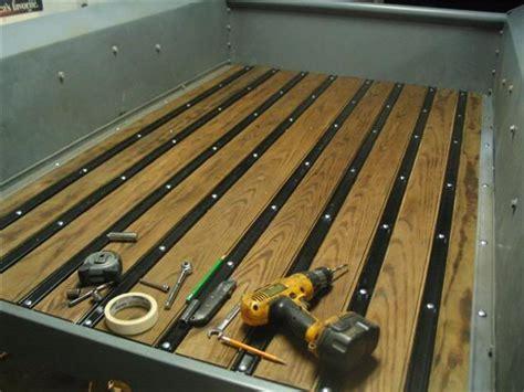wood truck bed diy wooden truck bed ranger project wooden Diy