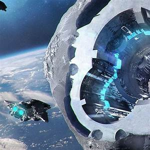 215 best Space Station concept art images on Pinterest ...
