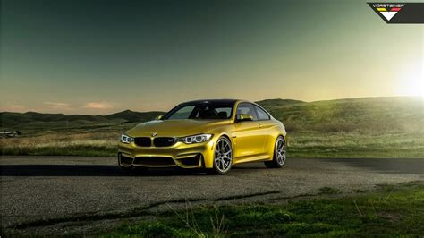 vorsteiner bmw  austin yellow  wallpaper hd car
