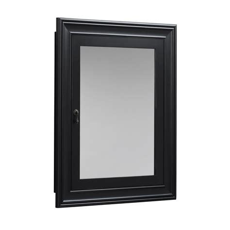 black recessed medicine cabinet black medicine cabinet recessed home design ideas