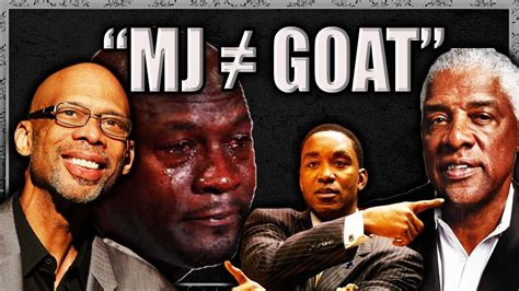 Nba Legends Who Don Believe The Goat Non