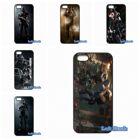 rainbow six siege characters phone cases cover for samsung