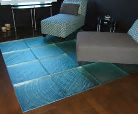 glass tile floor from thinkglass walking on glass is a experience