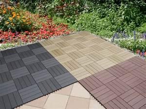 Terrassen Klick Fliesen : wpc terrassenfliesen klicksystem np34 hitoiro ~ Michelbontemps.com Haus und Dekorationen