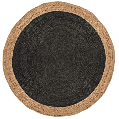 tapis rond chambre tapis rond 100 polyester et microfibre