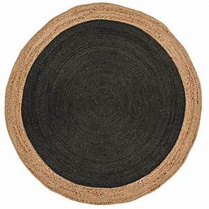 tapis rond chambre sunnyrain 1pice pastorale shaggy With tapis rond coco
