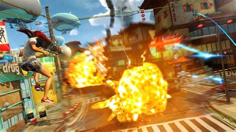 Ratchet And Clank Wallpaper 39 Sunset Overdrive 39 Review Energy Drink Fueled Insanity For Xbox One The Verge