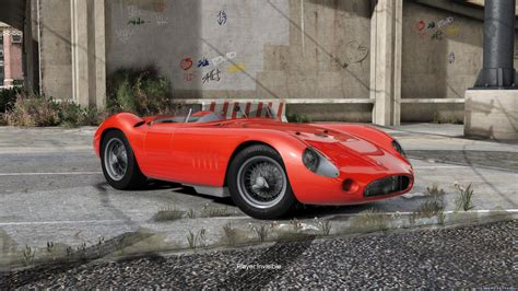 Maserati 300s by 1957 Maserati 300s 1 0 For Gta 5