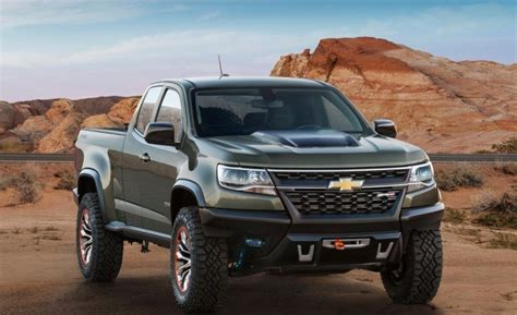 2018 Chevy Colorado Redesign by 2018 Chevy Colorado Zr2 Redesign And Price 2019 2020