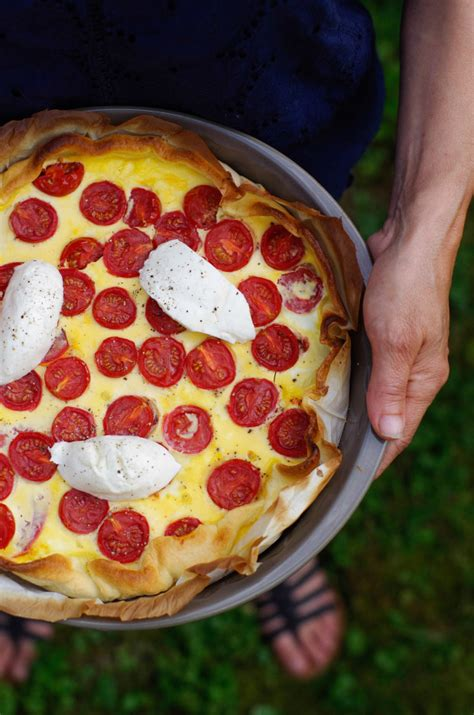 tarte tomates mozzarella la recette pourdebon
