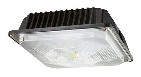 maxlite led shop light maxlite 5450 lumens 58w led low profile canopy light