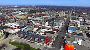 Downtown Bay City Drone Video - YouTube