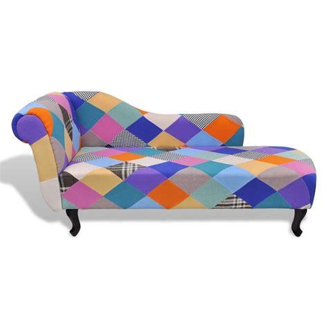 canapé coloré helloshop26 fauteuils lounge fauteuil canapé méridienne