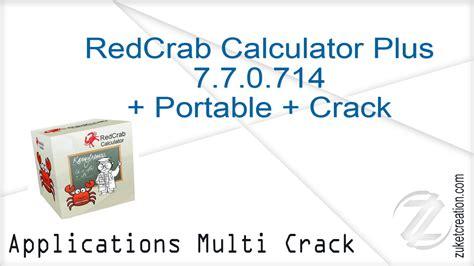 redcrab aplikasi calculator portable crack mb terbaru