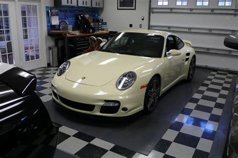white 997 turbo with 997 mkii wheels teamspeed